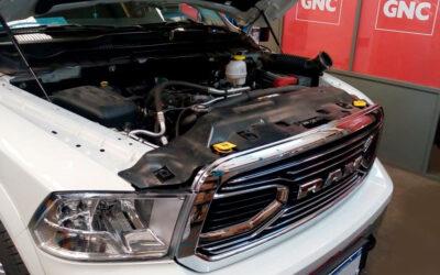 Dodge Ram GNC 100  lts. + 60 lts.